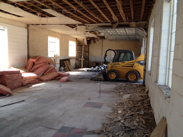 channing isd remodeling has begun